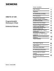 PLC Programlama ve Endüstrideki Uygulamaları (DR)