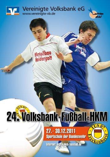 TUS 07 F reckenhorst - zur 24. Volksbank-Fußball-HKM