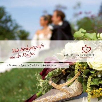 Anbieter » Tipps » Checkliste » Kostenplaner - Karlsruhe-Hochzeit.de