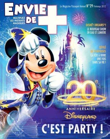 Télécharger l'Envie de + 29 - offre - Disneyland® Paris