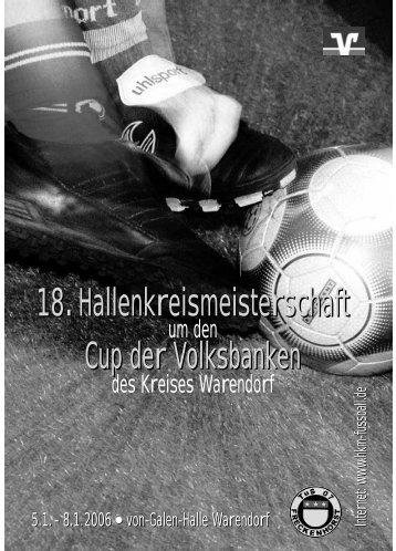 18.Hallenkreismeisterschaft 18 ... - zur 24. Volksbank-Fußball-HKM