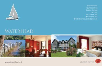View the Waterhead Hotel Brochure