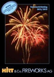 Hirt & Co. Fireworks AG – Feuerwerk-Katalog 2012/2013
