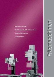 Bohr-Fräsmaschinen Multifunktionelle Bohr ... - HK Maschinentechnik