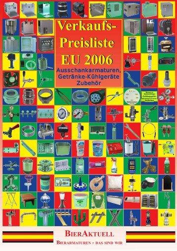 Verkaufs Preisliste EU 2006 Verkaufs Preisliste EU ... - HLTgroup.de
