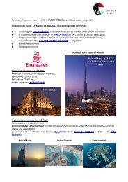 Ausblick vom Hotel Al Manzil - VAE Premium Select