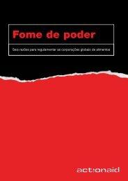 Fome de poder - ActionAid Brasil