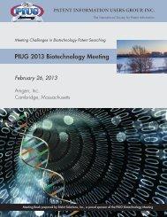 2013 Biotech Meeting Book - BizInt Smart Charts