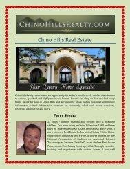 Chino Hills Real Estate