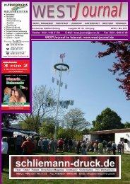WEST Journal April 2010.cdr - Julia Schliemann Verlag