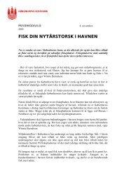 FISK DIN NYTÅRSTORSK I HAVNEN