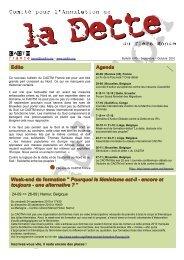 Edito Agenda Week-end de formation