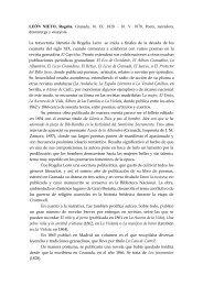 CASTRO Y EGAS, Ana de - Academia de Buenas Letras de Granada