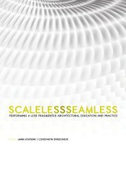 Seamless Performing a less fragmented architectural ... - ENHSA