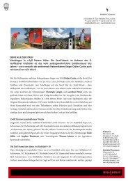 Golffestival Kitzbühel - Streif Attack
