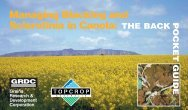 Managing Blackleg and Sclerotinia in Canola - Grains Research ...