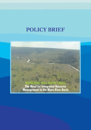 POLICY BRIEF - The Macaulay Land Use Research Institute