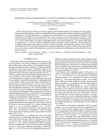 Paper - High Energy Astrophysics Division