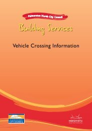 Vehicle Crossing Application Information - Palmerston North City ...