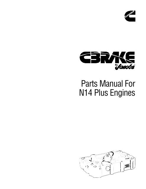 6304 p/n 20871d parts manual  jacobs vehicle systems