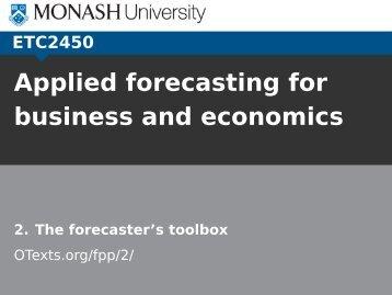 Some simple forecasting methods - Rob J Hyndman
