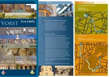 à la carte - Monumenten & Landschappen
