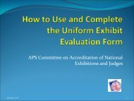 How to Use and Complete the Uniform Exhibit Evaluation Form