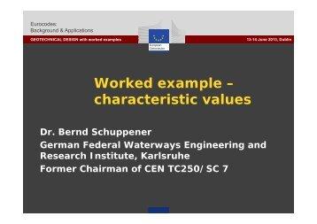 Worked example - Eurocodes - Europa