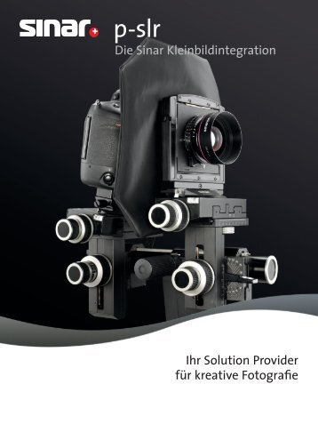 Broschüre Sinar p-slr PDF