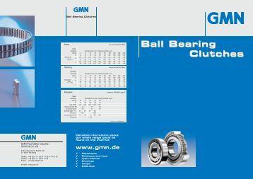 GMN Ball Bearing Clutches
