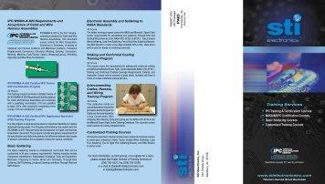 • IPC Training & Certification Courses • NASA/MSFC Certification ...