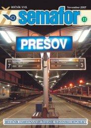November 2007 - ŽSR