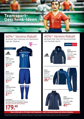 Teamsport Karstadt