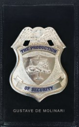 The Production of Security.pdf - The Ludwig von Mises Institute