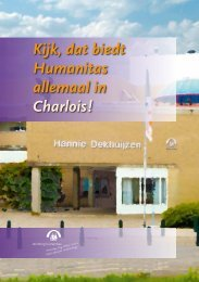Regiobrochure Humanitas-Charlois - Stichting Humanitas