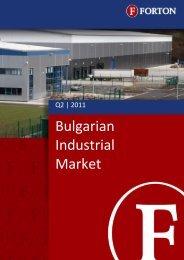 Bulgarian Industrial Market – Q2, 2011.pdf - Forton