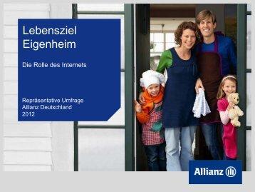 Lebensziel Eigenheim - AnlegerPlus