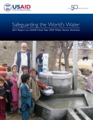 annual report on water-sector activities - Circle of Blue