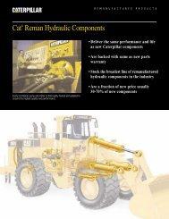 Cat® Reman Hydraulic Components - Venequip