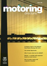 Issue 1/03 motoring directions A - Australian Automobile Association