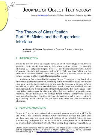 The Theory of Classification Part 15: Mixins and the Superclass ...