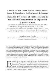 Entrevista a José Carlos Serrano, director general de ... - Grupo.us.es