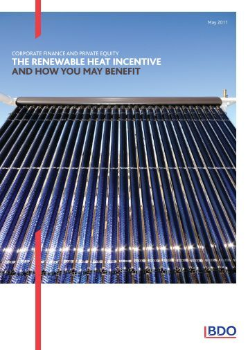 THE RENEWABLE HEAT INCENTIVE AND HOW YOU ... - UK.COM