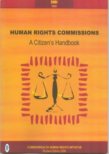 citizen handbook 2nd.pmd - Commonwealth Human Rights Initiative