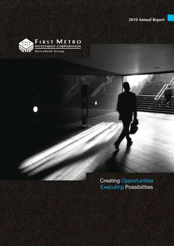 2010 Annual Report - First Metro Investment Corporation
