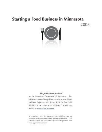 Starting a Food Business in Minnesota - Minnesota Farmers Market ...