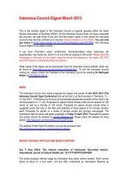 March - Asian Studies Association of Australia
