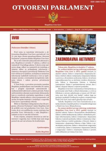 otvoreni-parlament-18-radna00_Layout 1 - Skupština Crne Gore