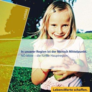 LebensWerte schaffen. - Regionalverband Niederösterreich-Mitte