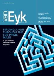 The Magazine - van Eyk